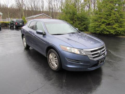 2012 Honda Crosstour for sale at International Motor Group LLC in Hasbrouck Heights NJ