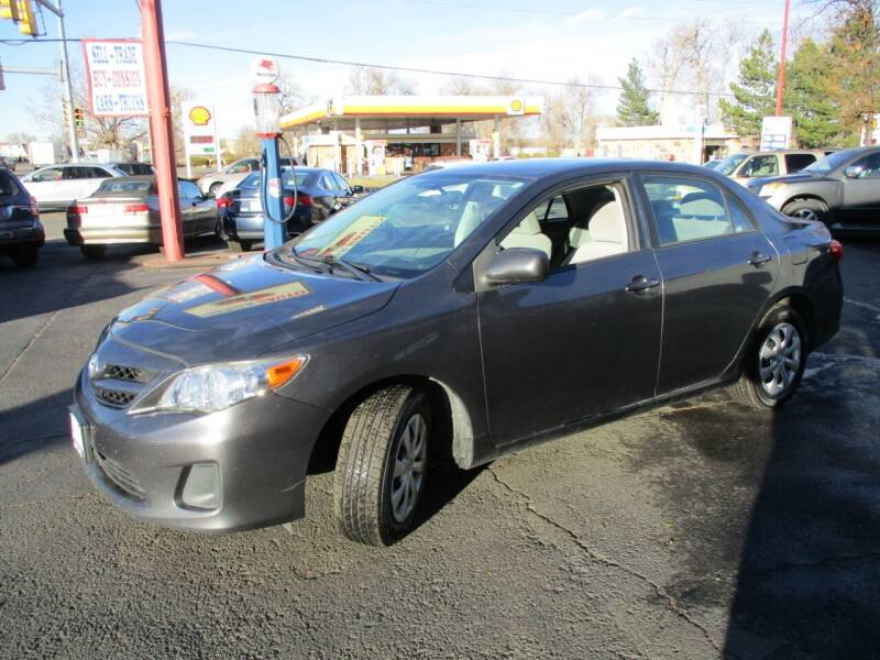 2011 Toyota Corolla for sale at Premier Auto in Wheat Ridge CO