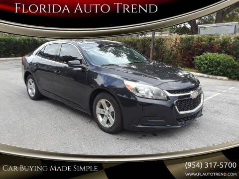 2015 Chevrolet Malibu for sale at Florida Auto Trend in Plantation FL