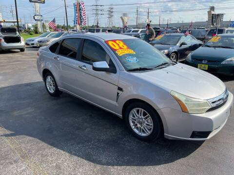 2008 Ford Focus for sale at Texas 1 Auto Finance in Kemah TX