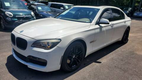 2012 BMW 7 Series for sale at GA Auto IMPORTS  LLC in Buford GA