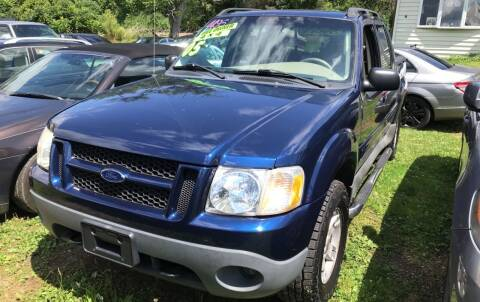 2005 Ford Explorer Sport Trac for sale at Richard C Peck Auto Sales in Wellsville NY