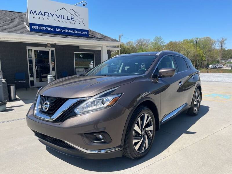 2016 Nissan Murano for sale at Maryville Auto Sales in Maryville TN