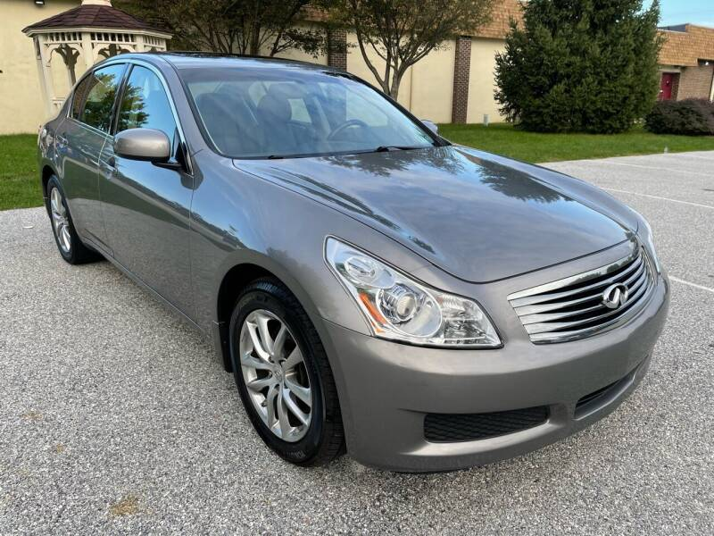 2007 Infiniti G35 for sale at CROSSROADS AUTO SALES in West Chester PA