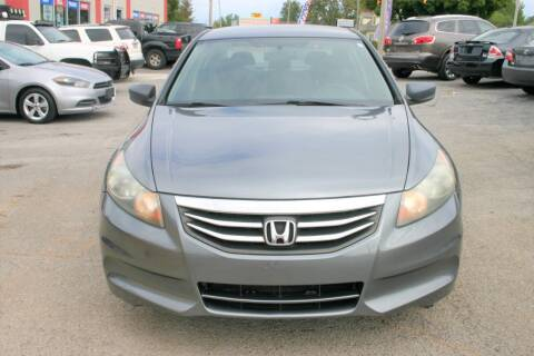 2011 Honda Accord for sale at RIVERSIDE CUSTOM AUTOMOTIVE in Mc Minnville TN
