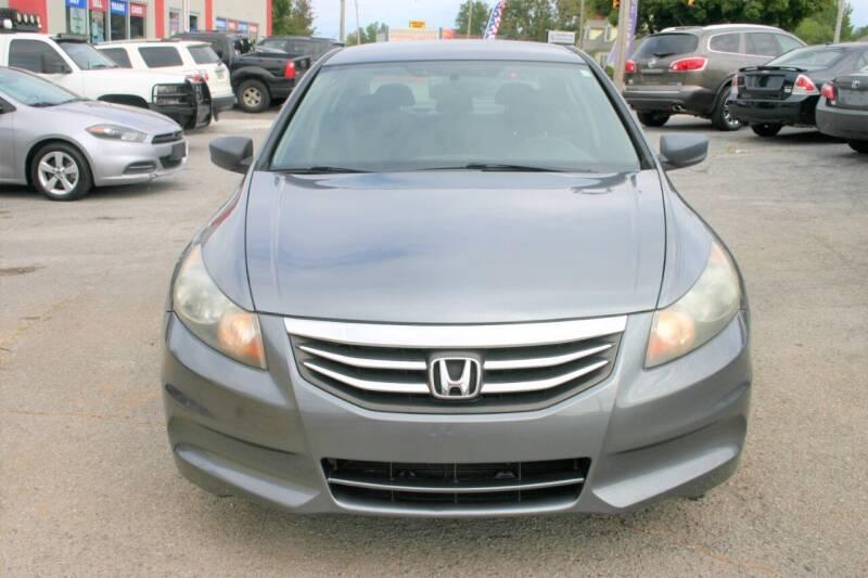 2011 Honda Accord for sale at RIVERSIDE CUSTOM AUTOMOTIVE in Mc Minnville TN