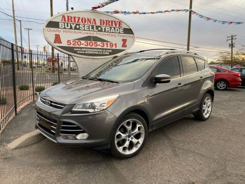 2014 Ford Escape for sale at Arizona Drive LLC in Tucson AZ