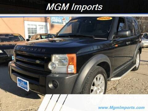 2006 Land Rover LR3 for sale at MGM Imports in Cincinnati OH