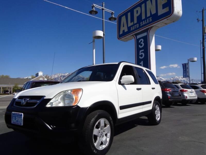 2004 Honda CR-V for sale at Alpine Auto Sales in Salt Lake City UT