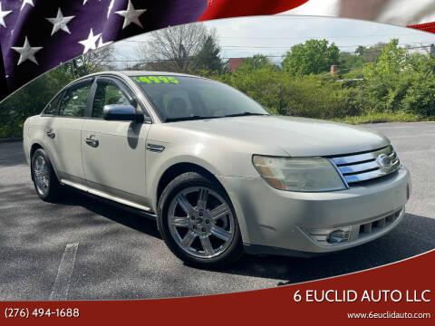 2008 Ford Taurus for sale at 6 Euclid Auto LLC in Bristol VA