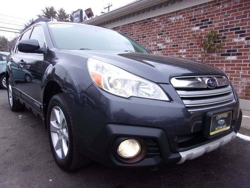 2013 Subaru Outback for sale at Certified Motorcars LLC in Franklin NH