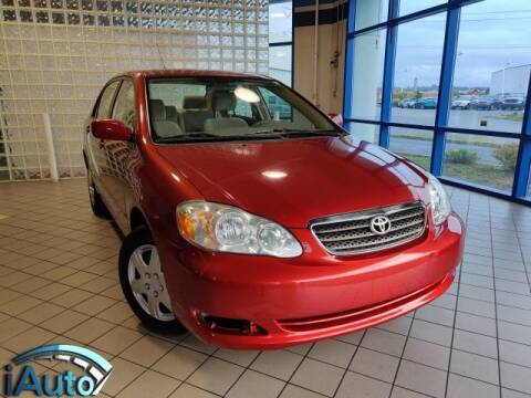 2007 Toyota Corolla for sale at iAuto in Cincinnati OH