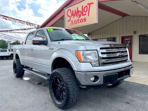 2013 Ford F-150 for sale at Sandlot Autos in Tyler TX
