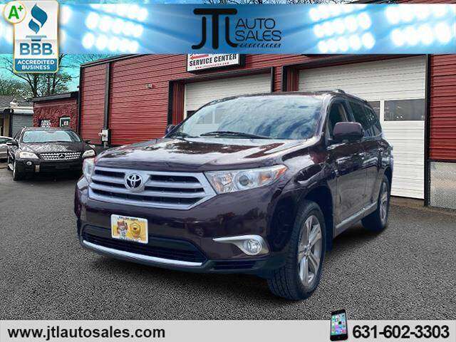 2012 Toyota Highlander for sale at JTL Auto Inc in Selden NY