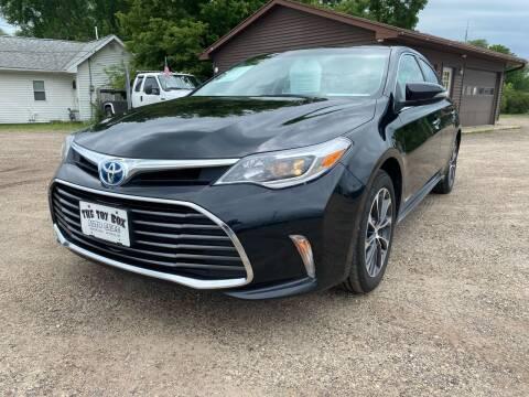 2016 Toyota Avalon Hybrid for sale at Toy Box Auto Sales LLC in La Crosse WI