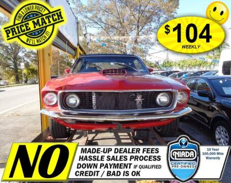 1969 Ford Mustang for sale at AUTOFYND in Elmont NY