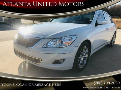 2011 Hyundai Genesis for sale at Atlanta United Motors in Jefferson GA