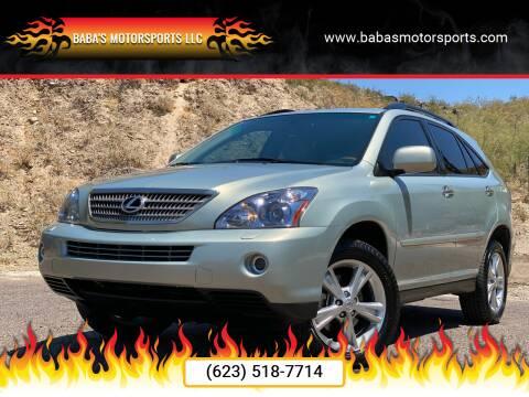 2008 Lexus RX 400h for sale at Baba's Motorsports, LLC in Phoenix AZ