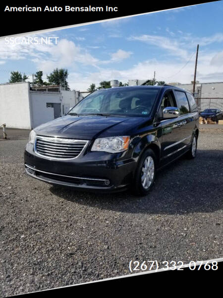 2016 Chrysler Town and Country for sale at American Auto Bensalem Inc in Bensalem PA