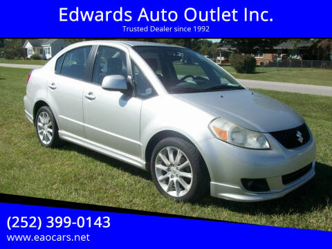 2009 Suzuki SX4 for sale at Edwards Auto Outlet Inc. in Wilson NC
