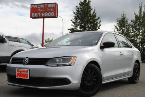 2011 Volkswagen Jetta for sale at Frontier Auto & RV Sales in Anchorage AK