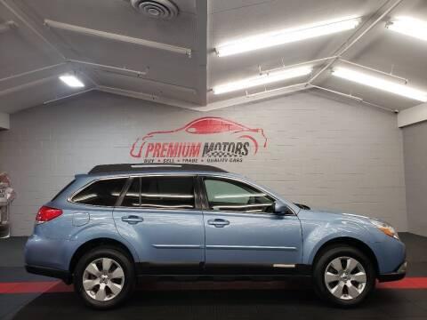 2012 Subaru Outback for sale at Premium Motors in Villa Park IL