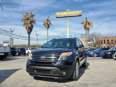 2015 Ford Explorer for sale at A MOTORS SALES AND FINANCE - 5630 San Pedro Ave in San Antonio TX