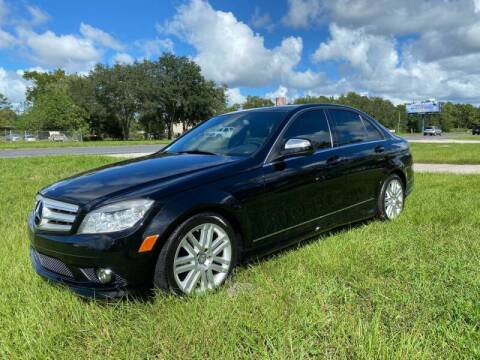 2009 Mercedes-Benz C-Class for sale at IMAGINE CARS and MOTORCYCLES in Orlando FL