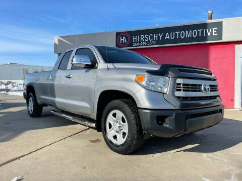 2015 Toyota Tundra for sale at Hirschy Automotive in Fort Wayne IN