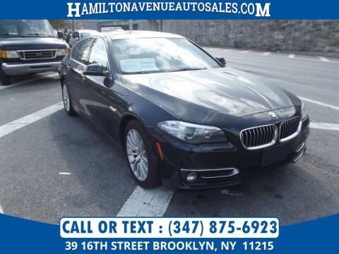 2014 BMW 5 Series for sale at Hamilton Avenue Auto Sales in Brooklyn NY