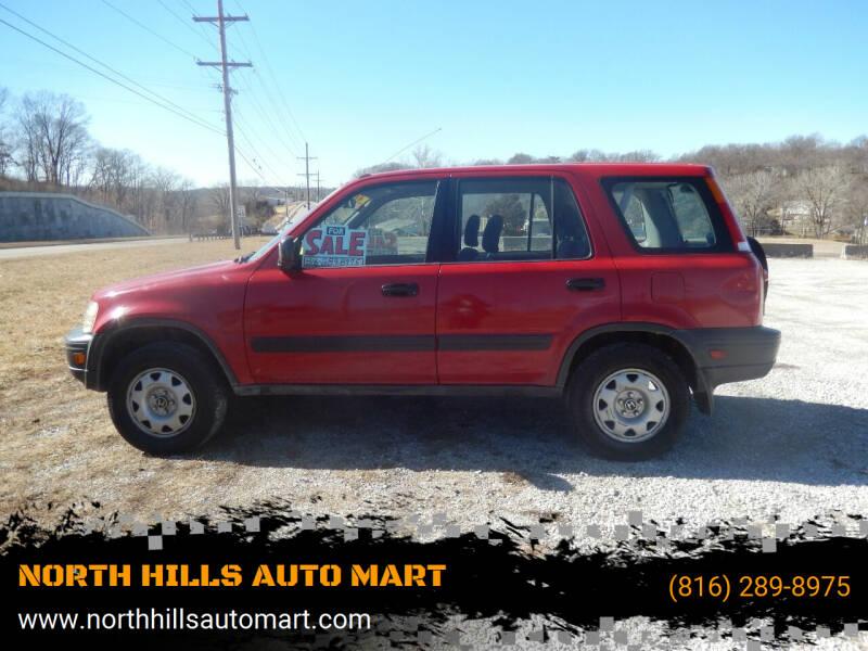 1999 Honda CR-V for sale at NORTH HILLS AUTO MART in Kansas City MO