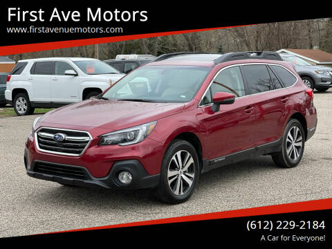 2019 Subaru Outback for sale at First Ave Motors in Shakopee MN