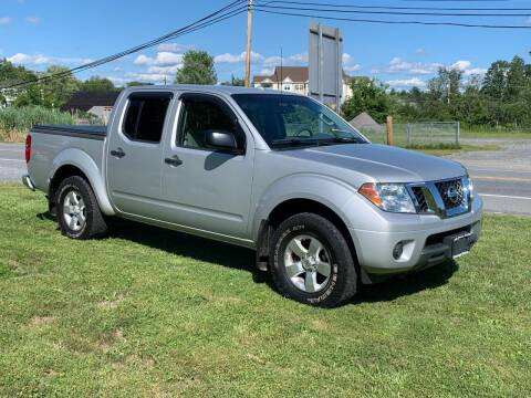 2012 Nissan Frontier for sale at Saratoga Motors in Gansevoort NY