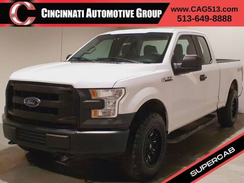 2015 Ford F-150 for sale at Cincinnati Automotive Group in Lebanon OH