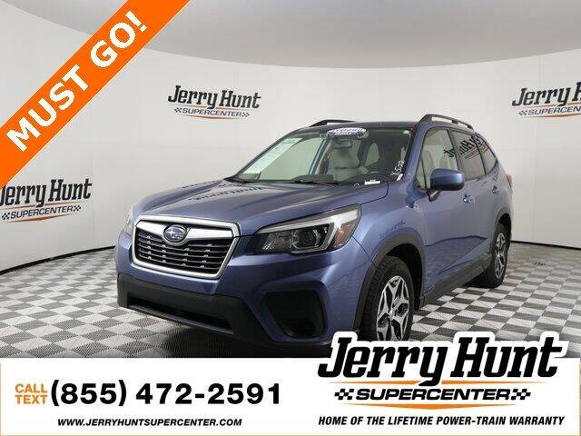2019 Subaru Forester for sale at Jerry Hunt Supercenter in Lexington NC