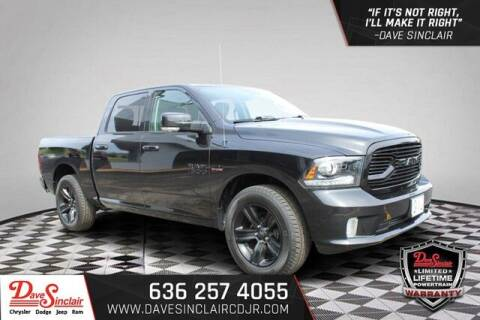 2018 RAM Ram Pickup 1500 for sale at Dave Sinclair Chrysler Dodge Jeep Ram in Pacific MO