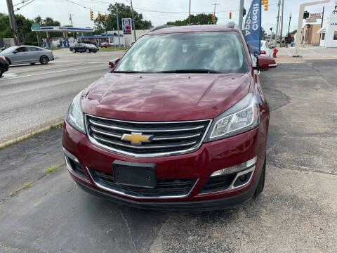 2015 Chevrolet Traverse for sale at National Auto Sales Inc. - Hazel Park Lot in Hazel Park MI
