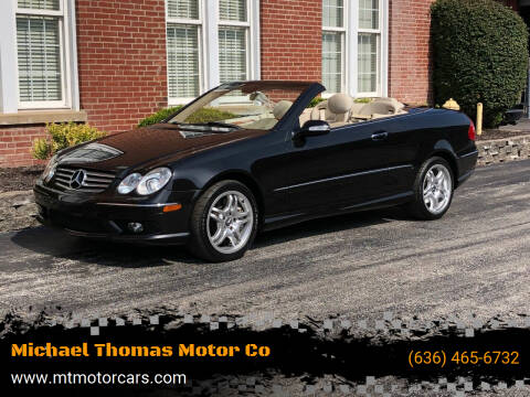 2004 Mercedes-Benz CLK for sale at Michael Thomas Motor Co in Saint Charles MO