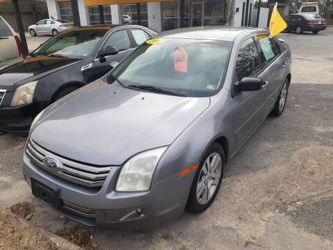 2007 Ford Fusion for sale at PIRATE AUTO SALES in Greenville NC