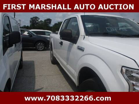 2015 Ford F-150 for sale at First Marshall Auto Auction in Harvey IL