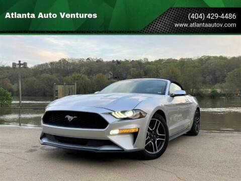 2021 Ford Mustang for sale at Atlanta Auto Ventures in Roswell GA
