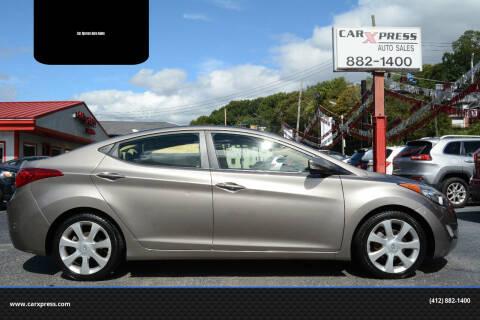 2012 Hyundai Elantra for sale at Car Xpress Auto Sales in Pittsburgh PA