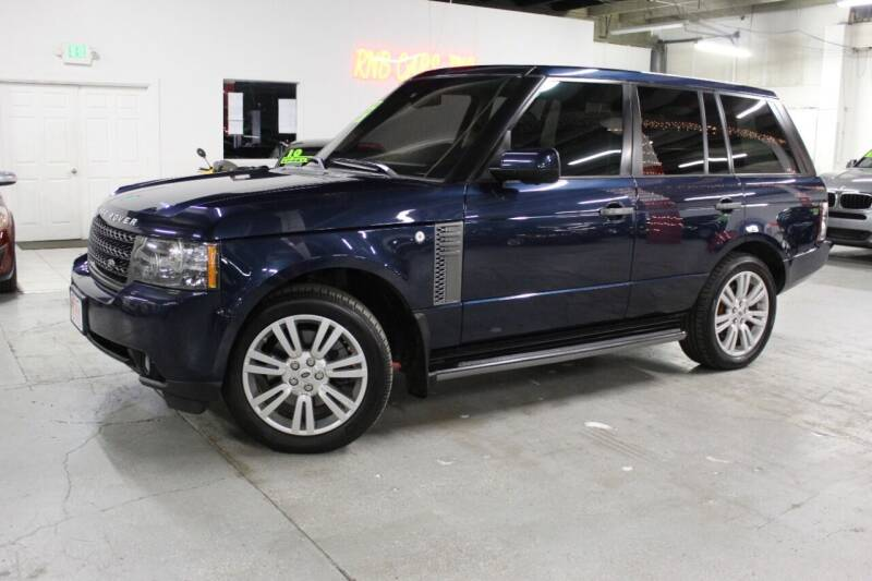 2011 Land Rover Range Rover for sale at R n B Cars Inc. in Denver CO