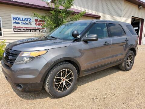2015 Ford Explorer for sale at Hollatz Auto Sales in Parkers Prairie MN