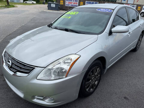 2012 Nissan Altima for sale at Cars for Less in Phenix City AL