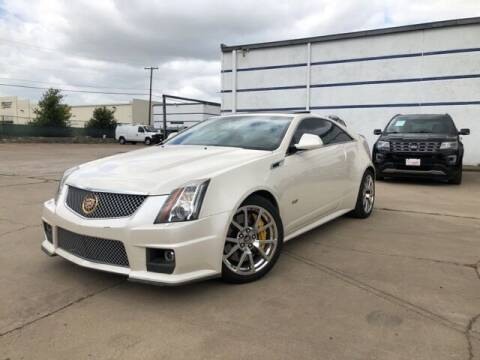 2014 Cadillac CTS-V for sale at CERTIFIED AUTOPLEX INC in Dallas TX