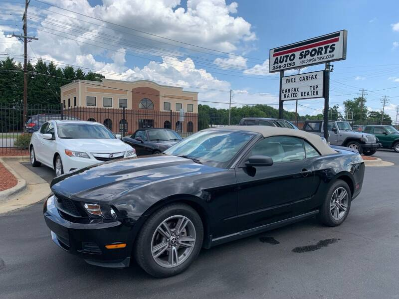 2010 Ford Mustang for sale at Auto Sports in Hickory NC