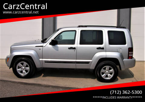 2011 Jeep Liberty for sale at CarzCentral in Estherville IA