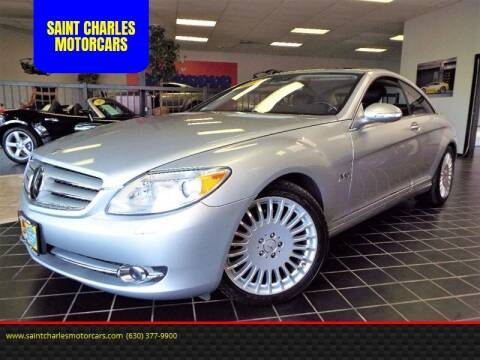 2008 Mercedes-Benz CL-Class for sale at SAINT CHARLES MOTORCARS in Saint Charles IL