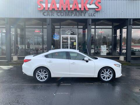 2016 Mazda MAZDA6 for sale at Siamak's Car Company llc in Salem OR